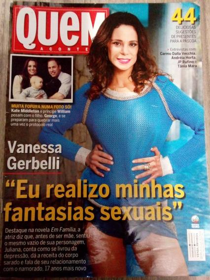 Quem 708 Vanessa Gerbelli Sandy Dinho Ouro Preto Fábio Jr.