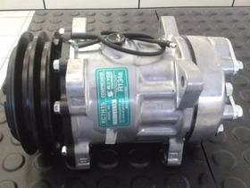 Compressor Ar Condicionado 7h15 Volvo L70/l90/l220/l330/24v
