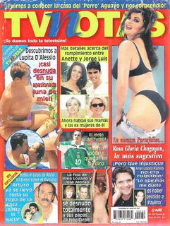 Rosa Gloria Chagoyan En Revista Tvnotas