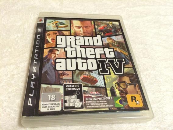 Grand Theft Auto Iv (sony Ps3, 2008) Sem O Mapa