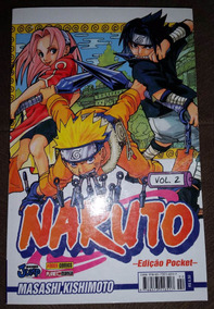 Mangá Naruto Nº 2 Pocket - Masashi Kishimoto