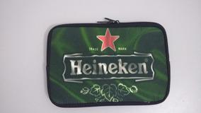 Capa Case Zíper Para Tablet 7 Polegadas Heineken Prova Água