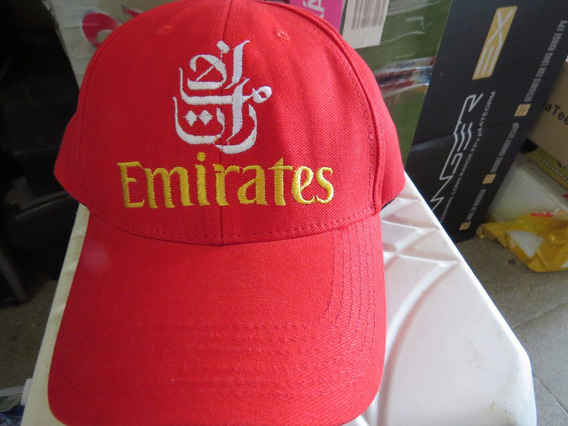 Boné Bordado Emirates