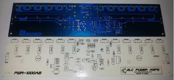 Par De Placa Para Montar Amplificador De 1000w Rms E Fonte