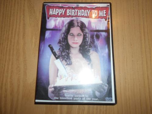 Dvd - Happy Birthday To Me ( Cumpleaños Sangriento )