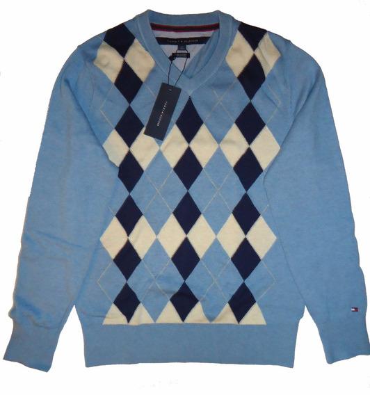 Chalecos / Sweater Rombo Tommy Tallas S Y M / Rabstore