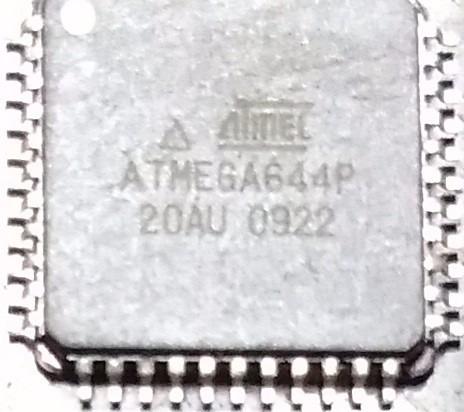 Lote De Microcontroladores Atmega644p-20au 0922 Marca Atmel