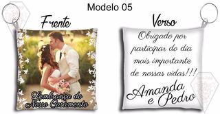 100 Lembrancinhas Chaveiros Almofada Aniversário Casamento