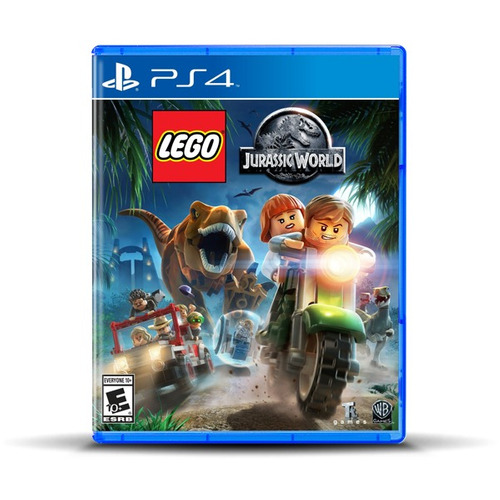 Lego Jurassic World Ps4, Físico, Macrotec
