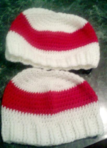 Gorro A Crochet Color A Elección