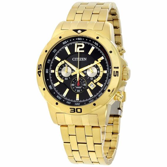 Relógio Citizen Chronograph Gold An8102-59e
