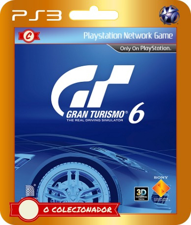 Gran Turismo 6 (ps3) - Envio Rápido!