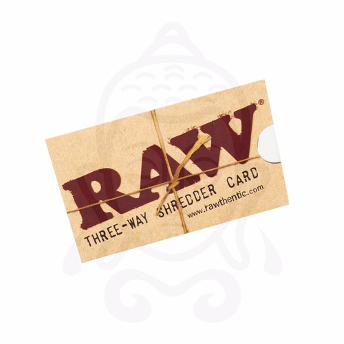 Grinder (moledor) Raw De Tarjeta, Aluminio, Con Funda.