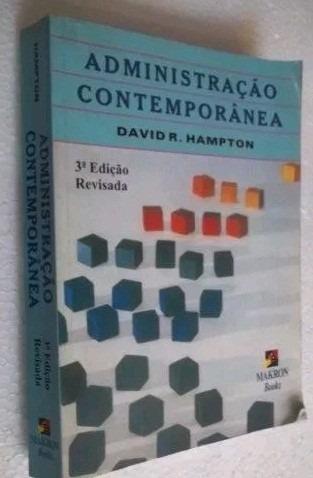 * Livro - Administração Contemporanea - David Hampton