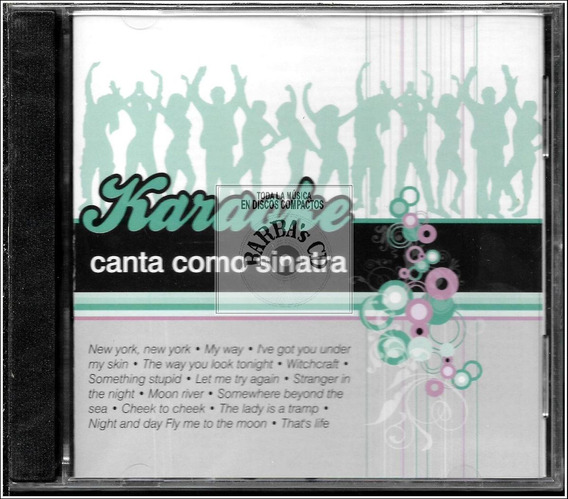 Karaoke - Canta Como Sinatra ( Nuevo, Cerrado)