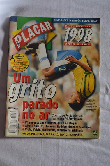 Revista Placar #1146 - Dez/98 - Especial Retrospectiva 98