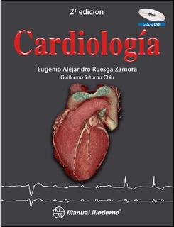 Cardiologia. Incluye Cd. Isbn9786074480641, Mañual Moderno