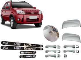 Kit Cromado Economico 12 Peças Ford Ecosport 2003 A 2012