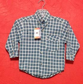 97d5ad1de3 Camisa Casual Cuadros Vaquera Niño Manga Larga Bebe T 2 C134