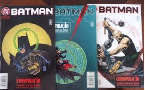 Gibi Batman Conspiração Parte 1,2 E 3 Edição Completa