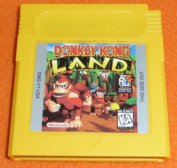 Donkey Kong Land Americano Original! Jogo Novinho + Garantia