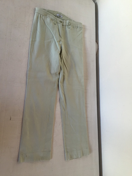 Pantalon Portsaid Verde Agua Talle 40 Elastizado