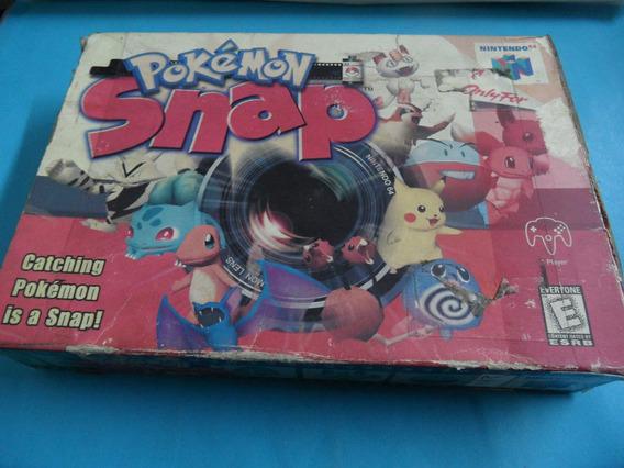 Caixa Pokémon Snap Original Nintendo 64 N64 (sem Berço)
