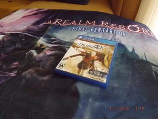 Juego Final Fantasy Type-0 + Bandera Ffxiv