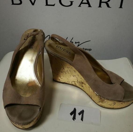 Sandalias Zapatos Usados Desfile Maeca Guess Tg 36½