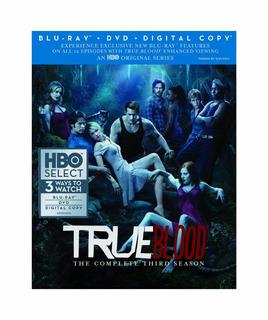 True Blood - 3ª Temporada - Blu Ray - Importado