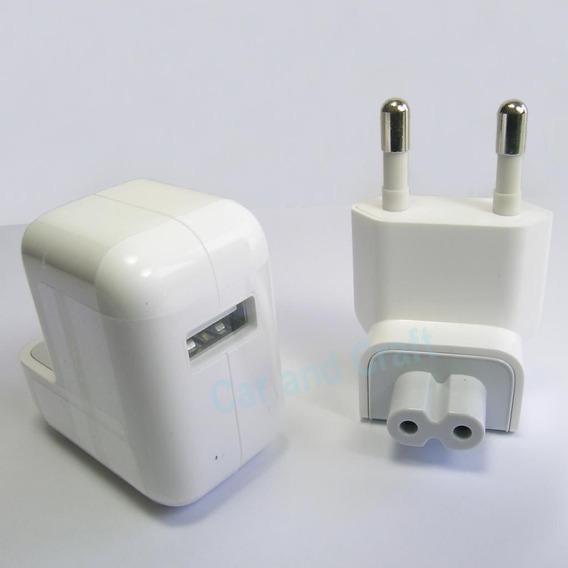 Carregador Adaptador Parede Original iPad 10w A1357 Eu Plug