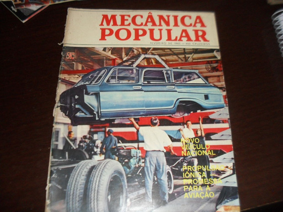 Revista Mecanica Popular Fevereiro 1965