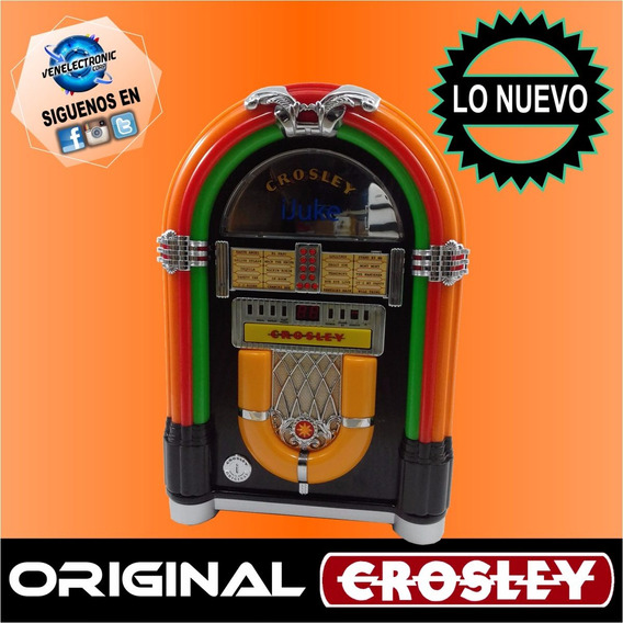 Crosley Cr1101a-ch Jukebook Con Reproductor De Cd Y iPod A08