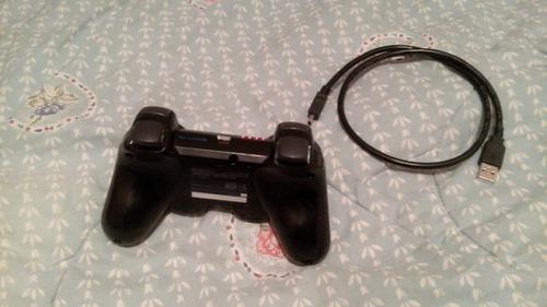 Imagen 1 de 3 de Control Ps3 Nuevo Con Su Cable