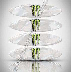 Refletivos Capacete Monstro Sundown Vblade Kit 4 Adesivos R