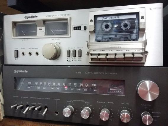 Tape Deck Gradiente Cd-2800 Leia Com Atenção!!!!!!