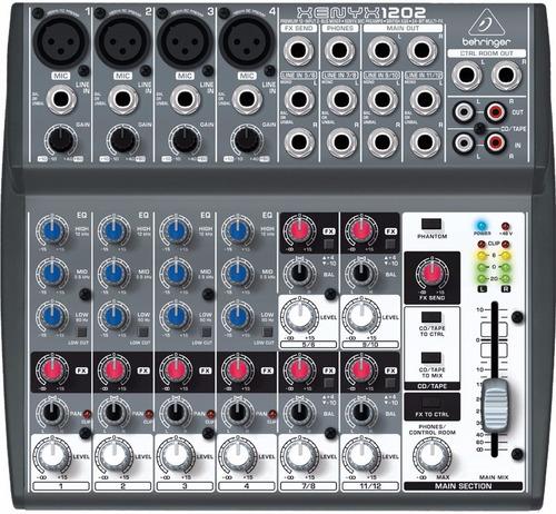 Behringer Xenyx 1202 Consola Mixer 12 Entradas En Oferta