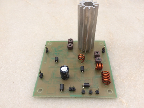 Amplificador De Rf Para Pll Veicular - 5w+filtro + Tvi