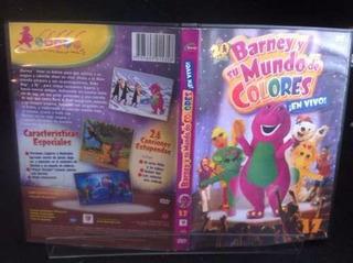 Dvd Barney Su Mundo De Colores