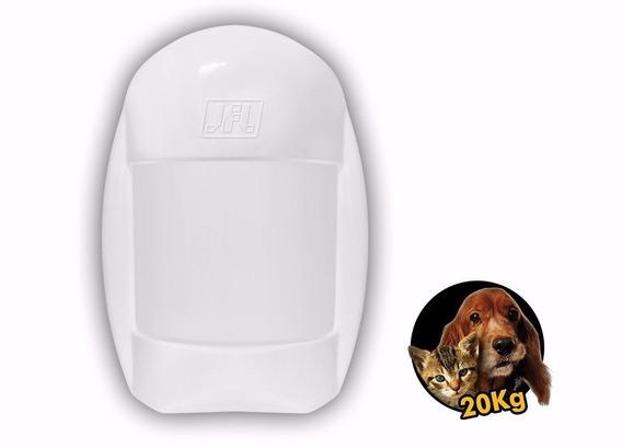 Sensor Infravermelho Pet Jfl Idx-2001 20 Kg Pir Dual Com Fio