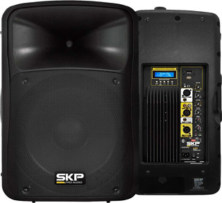 Bafle Activo Skp Sk-5p Usb Mp3 Bluetooth Fm 250 Watts Rms
