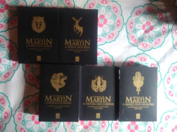 Box Crônicas De Gelo E Fogo, 5 Livros