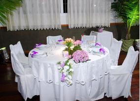 Capas Para Cadeira - Tecido Coronado Branco-kit Com 10 Capas