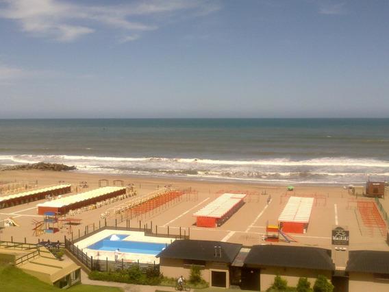 Departamento Alquiler Monoambiente Frente Al Mar C/ Cochera