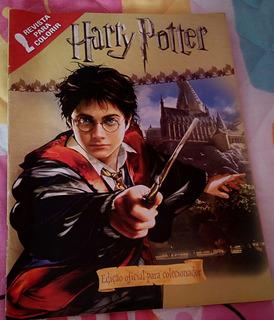 Revista De Colorir Harry Potter. Ed De Colecionador