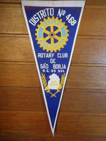 Antiga Flâmula Rotary São Borja - F0030