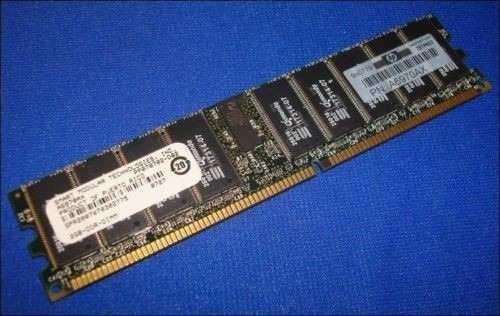 Memoria 2gb Ddr Pc2100r 184 Pinos Hp A6970ax Smart Ecc (m2)