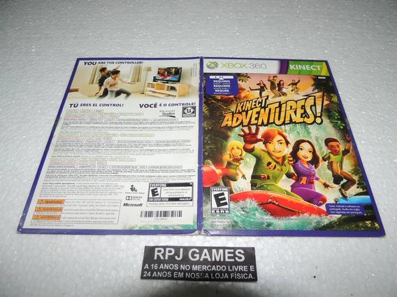 Kinect Adventures Midia Fisica Original C/ Capinha Papelão