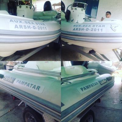 Reparación De Dingui Botes Inflables Caribe Ab