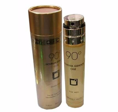 Perfume Original 90 Grados Gold Beverly Hills Hombre 100ml